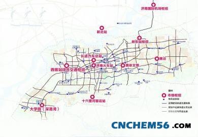济南城市空间结构